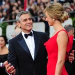 George Clooney and Stacy Keibler at the 2012 Golden Globe Awards 103092