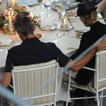 George Clooney and Stacy Keibler have dinner at Villa d'Este, Como, Cernobbio 117878