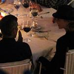 George Clooney and Stacy Keibler have dinner at Villa d'Este, Como, Cernobbio 117880