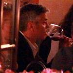 George Clooney and Stacy Keibler dine at Navedano restaurant in Como, Italy 118322