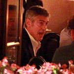 George Clooney and Stacy Keibler dine at Navedano restaurant in Como, Italy 118324