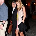 George Clooney and Stacy Keibler dine at Navedano restaurant in Como, Italy 118332