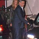 George Clooney, Stacy Keibler, Cindy Crawford and Randy Gerber leave Craig's Restaurant in West Hollywood 112548