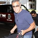 George Clooney at LAX July 2011 90715