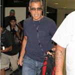 George Clooney at LAX July 2011 90716