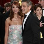 Worst of 2008: Clooney & Larson at the Oscars 29470