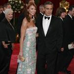 Worst of 2008: Clooney & Larson at the Oscars 29469
