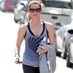 Ashely Greene leaving the gym June 2011 87265