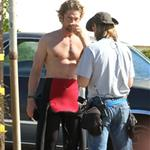 Gerard Butler on the set of Of Men & Mavericks  96252