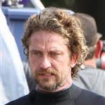 Gerard Butler on the set of Of Men & Mavericks  96257