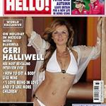 Geri Halliwell in a bikini in Hello Magazine 23511