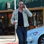 Gerard Butler out and about in LA during Golden Globes week 53403