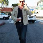 Gerard Butler out and about in LA during Golden Globes week 53405