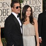 Brad Pitt and Angelina Jolie at the Golden Globes 2009 30598