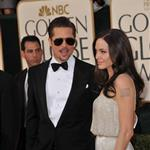 Brad Pitt and Angelina Jolie at the Golden Globes 2009 30601