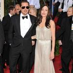 Brad Pitt and Angelina Jolie at the Golden Globes 2009 30596