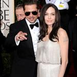 Brad Pitt and Angelina Jolie at the Golden Globes 2009 30599