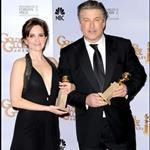 Tina Fey and Alec Baldwin at the 2009 Golden Globe Awards 30512