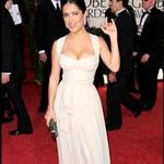 Salma Hayek at the 2009 Golden Globe Awards 30519