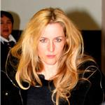 Gillian Anderson arrives at LAX February 2011 78055