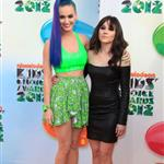 Katy Perry and Shannon Woodward at Nickelodeon's 25th Annual Kids' Choice Awards 110344