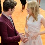 Emma Stone and Andrew Garfield at Nickelodeon's 25th Annual Kids' Choice Awards 110353
