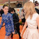 Emma Stone and Kristen Stewart at Nickelodeon's 25th Annual Kids' Choice Awards 110360