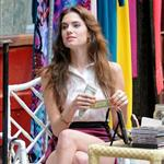 Allison Williams on the set of Girls in Soho 116543
