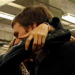 Tom Brady of the New England Patriots gets a hug from his wife Gisele Bundchen after losing to the New York Giants 105024