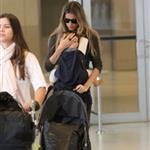 Gisele Bundchen arrives in Miami with baby Benjamin for Tom Brady Patriots vs Dolphins  69978