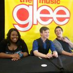 Amber Riley, Chris Colfer, Cory Monteith in Long Island to promote the Glee soundtrack 49850