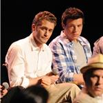Matthew Morrison Cory Monteith at Academy screening and Q&A May 2011  84865