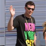 Cory Monteith Glee cast shooting second season possible New York theme 66569