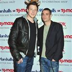 Cory Monteith and Mark Salling at a Christmas promotional event in New York 51711