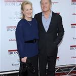 Meryl Streep and Don Gummer attend the The Iron Lady New York premiere  100607