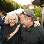 Glenn Close and Robin Williams at the Mill Valley Film Festival  95914