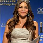 Sofia Vergara during the 69th annual Golden Globe Award Nominations announcements 100691