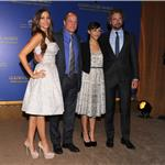 Woody Harrelson, Sofia Vergara, Gerard Butler, and Rashida Jones during the 69th annual Golden Globe Award Nominations announcements 100703