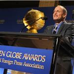 Woody Harrelson onstage during the 69th annual Golden Globe Award Nominations announcements 100705