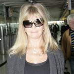 Goldie Hawn at Heathrow Airport  107907