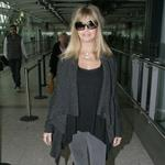Goldie Hawn at Heathrow Airport  107908