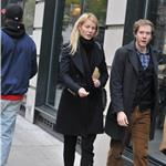 Gwyneth Paltrow in Burberry with her brother Jake in New York  73920