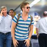 Ryan Gosling at JFK airport this weekend  122515