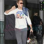 Ryan Gosling arrives on red eye for TIFF to promote Blue Valentine  68814