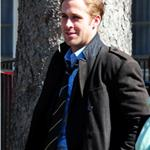 Ryan Gosling shoots with George Clooney in Ohio 80557
