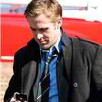 Ryan Gosling shoots with George Clooney in Ohio 80558