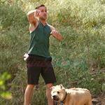 Ryan Gosling takes his dog out for a hike on Easter Weekend 58141