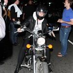 Ryan Gosling leaves Bardot on his bike and engages fans 43808