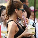 First photos of Eva Mendes in Thailand 105193