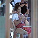 Eva Mendes gets her hair done in Thailand 106313
